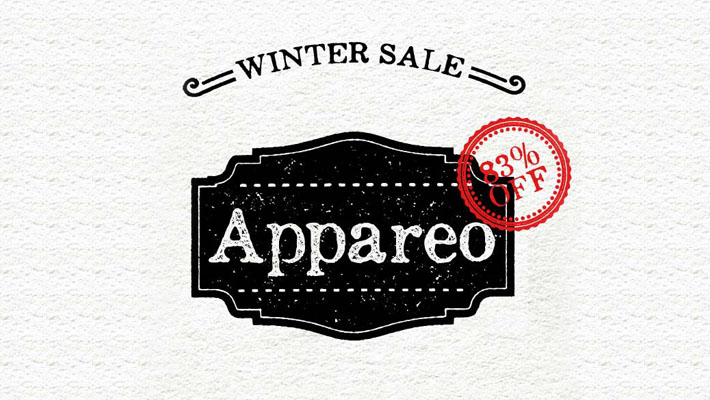 Deal of The Week: Appareo Font Family - Vintage, Weathered Typeface 1