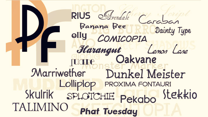Deal of The Week: Over 2,000 Exclusive Unique Fonts 7
