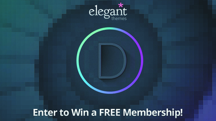 Giveaway : Win 3 Developer Subscriptions From Elegant Themes 7