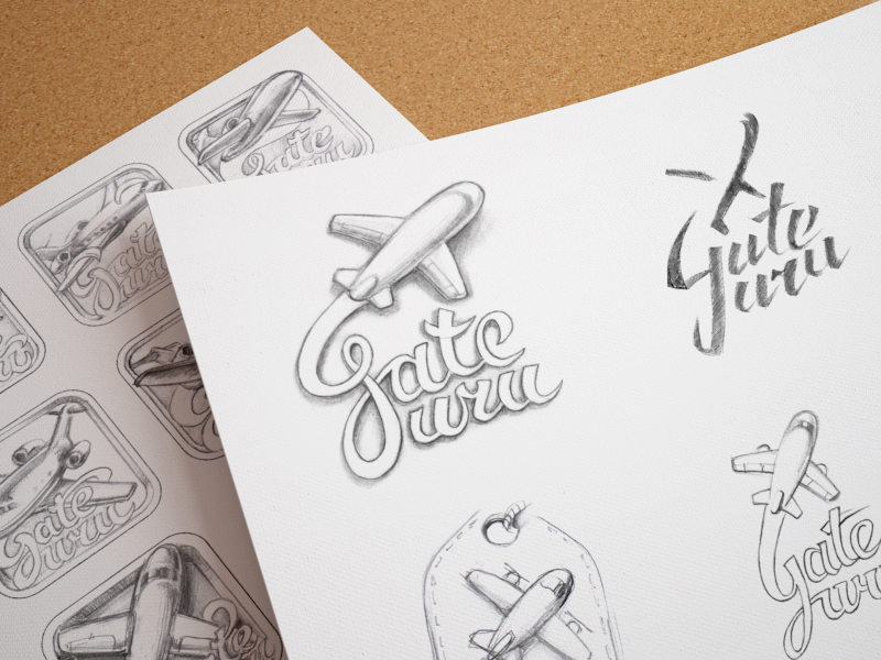 Logo Design Sketching