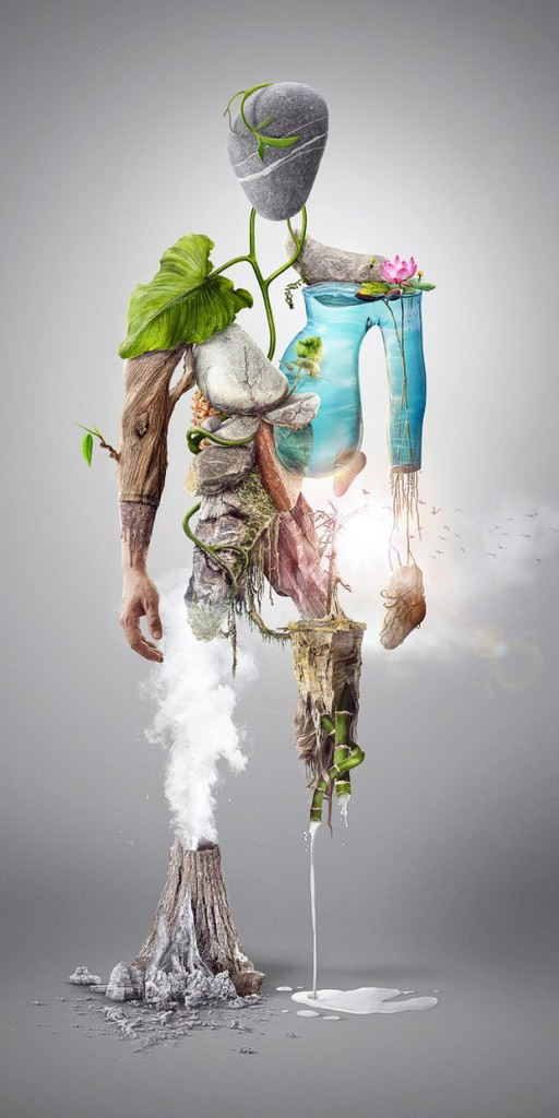 Nature Man - Digital illustration - Photo Manipulation