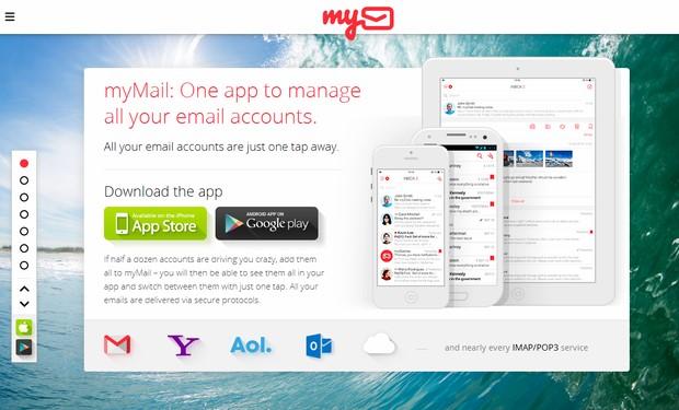 Email App Web Design