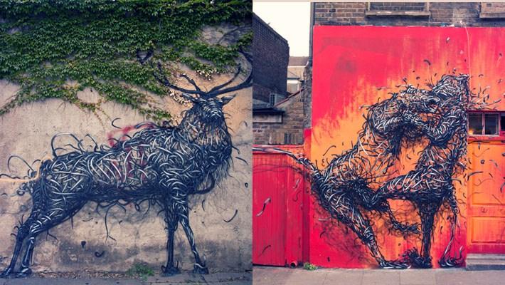 Stunning Street Art by DALeast