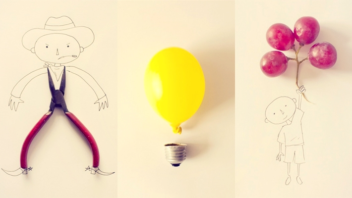 Turn Simple Objects into Creative Illustration by Javier Perez