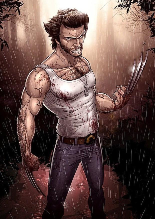 X-Men Origins: Wolverine by-Patrick-Brown