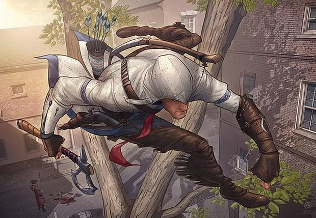 Assassins Creed 3 fan art contest Illustration