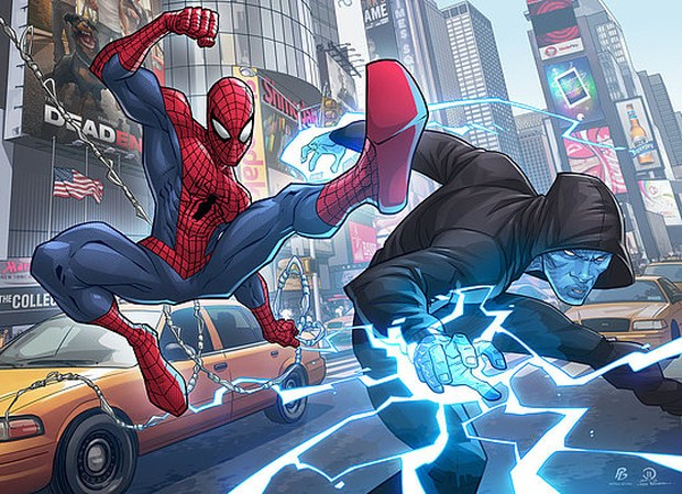 The Amazing Spider-man 2 by Patrick-Brown