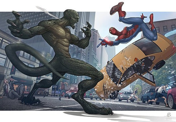 The Amazing Spider-man Illustration