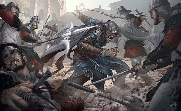Assassins Creed Revelations Illustration