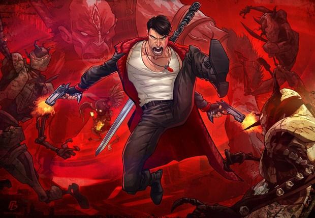 Devil May Cry Illustration