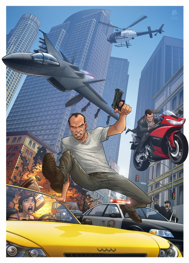 Grand Theft Auto V by-Patrick-Brown