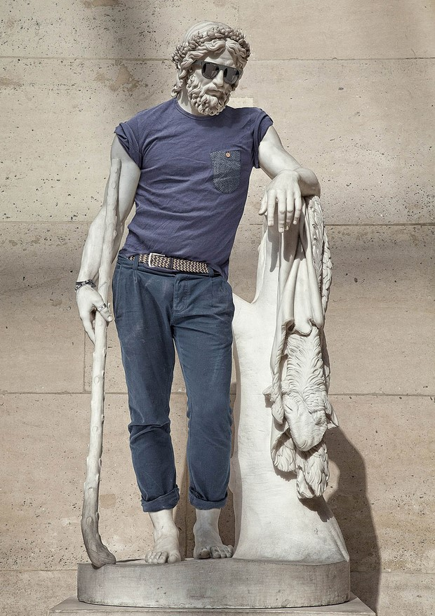 Classical Sculptures Dressed Leo Caillard