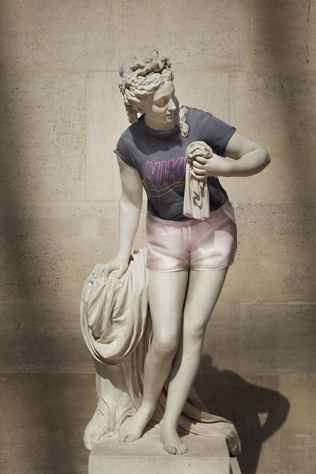 Classical Sculptures Dressed