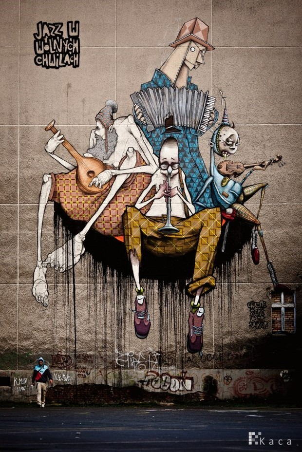 Creative Street Art Wall Murals