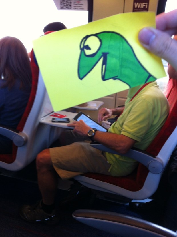 Turning-Travelers-into-a-Humorous-Character-by-October Jones