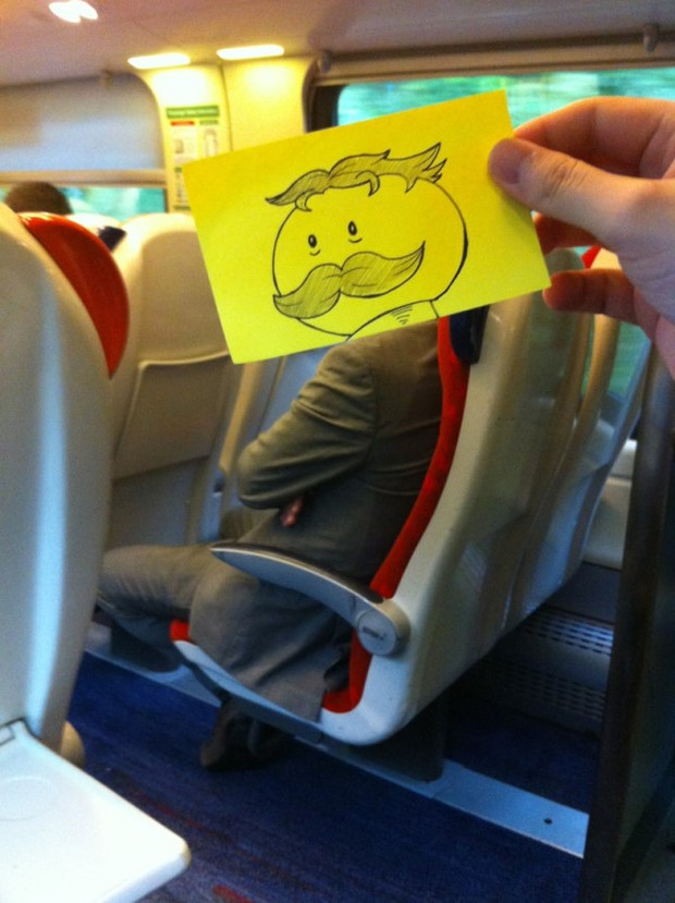 Turning Travelers into a Humorous Character
