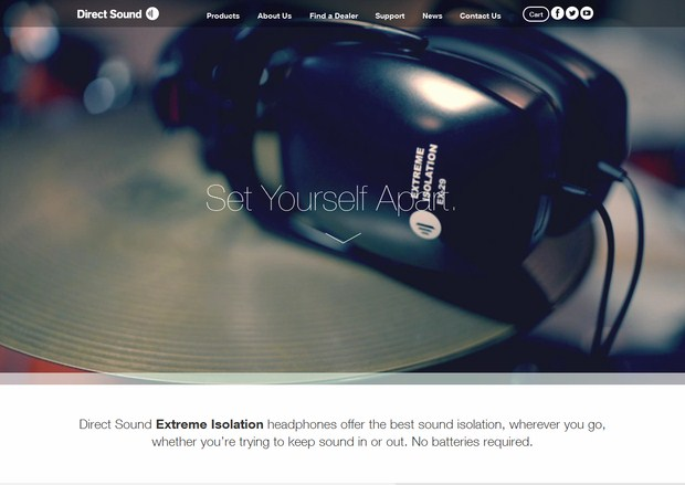 Direct-Sound-Big-Background-Image-Web-Design