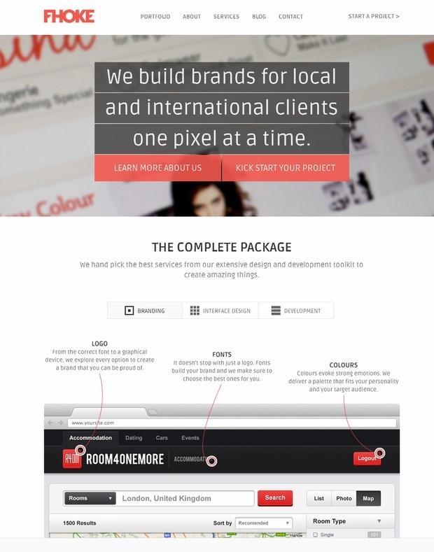 Fhoke-Flat-Web-Design