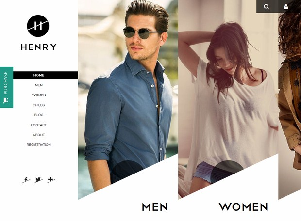 Henry-Shop-Flat-Web-Design