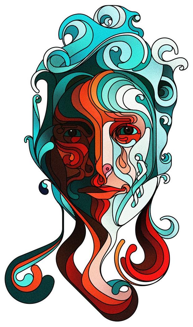 Mind-blowing-Illustration-Portraits