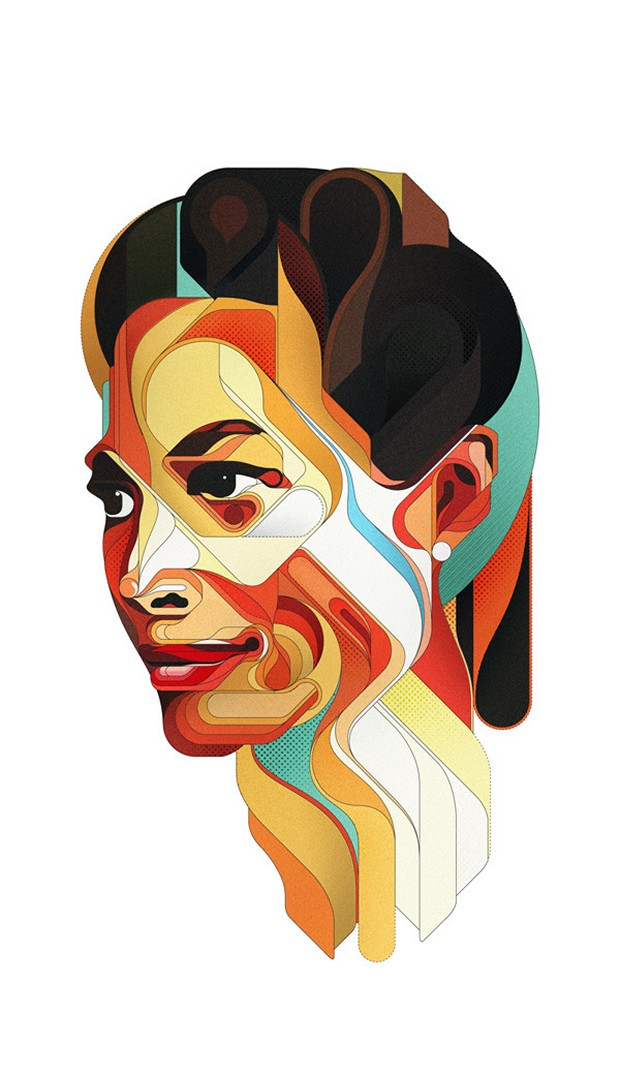 Mind-blowing Illustration Portraits