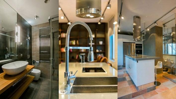 Minimalist Loft Along with High-tech Elements