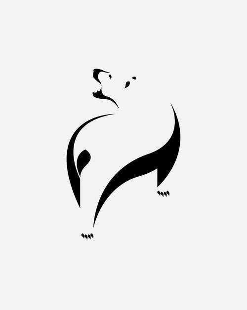 Nagative Space logo design inspiration 2014