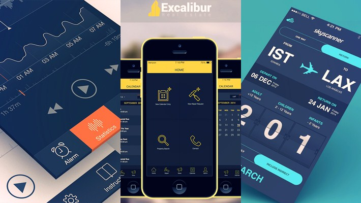 30 inspirational ios 7 app design that will surely inspire you for Interior design web app