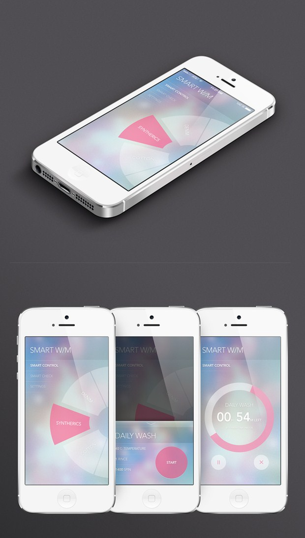 30 inspirational ios 7 app design that will surely inspire you. Black Bedroom Furniture Sets. Home Design Ideas
