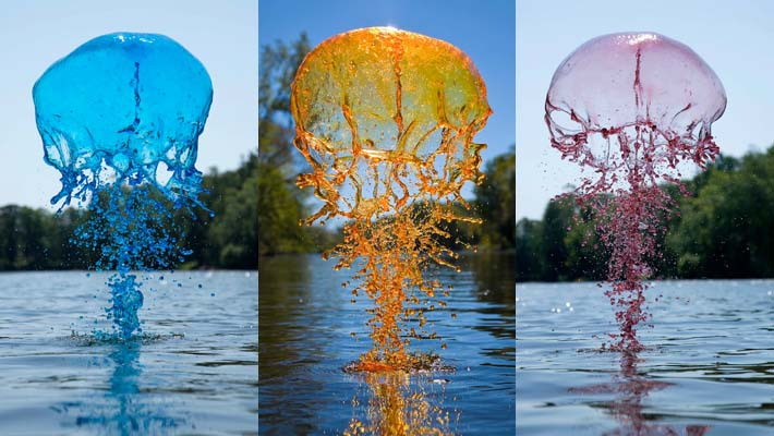 River Giants - Colorful Liquid Splashes Photography by Jack Long 1