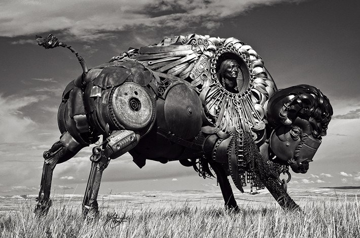013-Amazing-Metal-Animal-Sculptures-of-John-Lopez