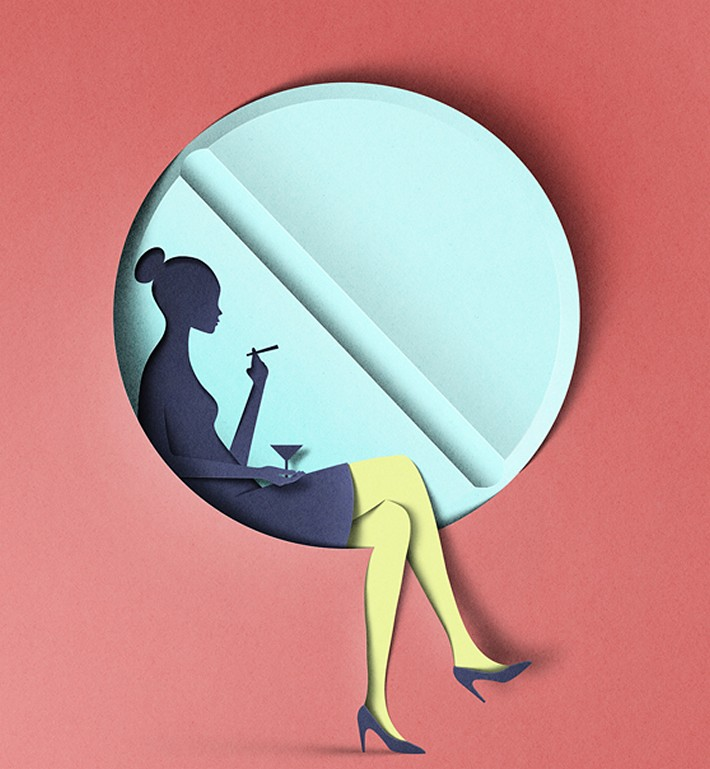 Papercut Illustrations by Eiko Ojala