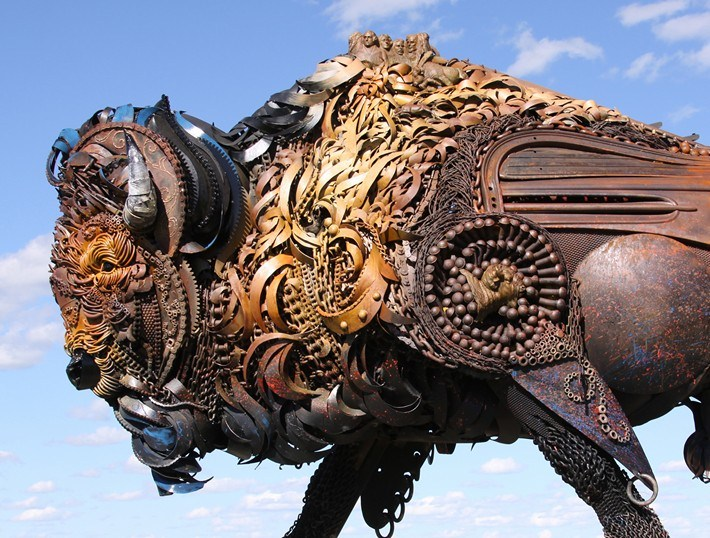 019-Amazing-Metal-Animal-Sculptures-of-John-Lopez