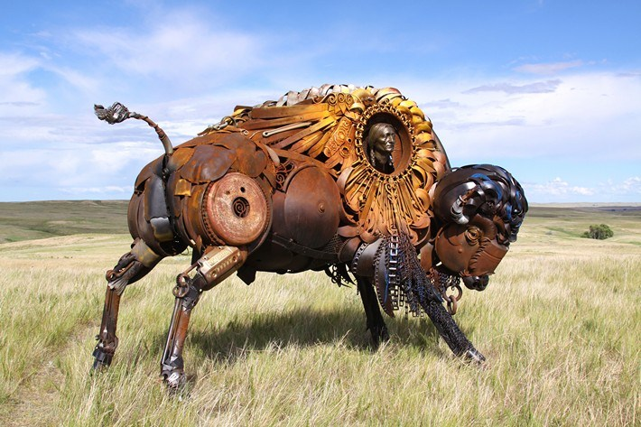 021-Amazing-Metal-Animal-Sculptures-of-John-Lopez