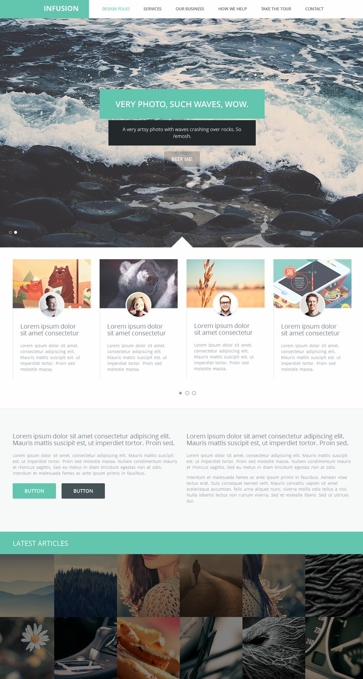 Infusion WP Theme