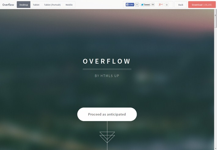 Overflow-html5-template