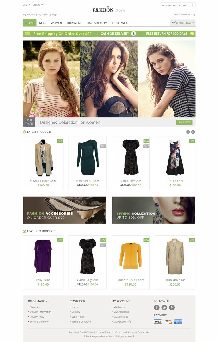 Fashion Store-Responsive-Magento-Theme