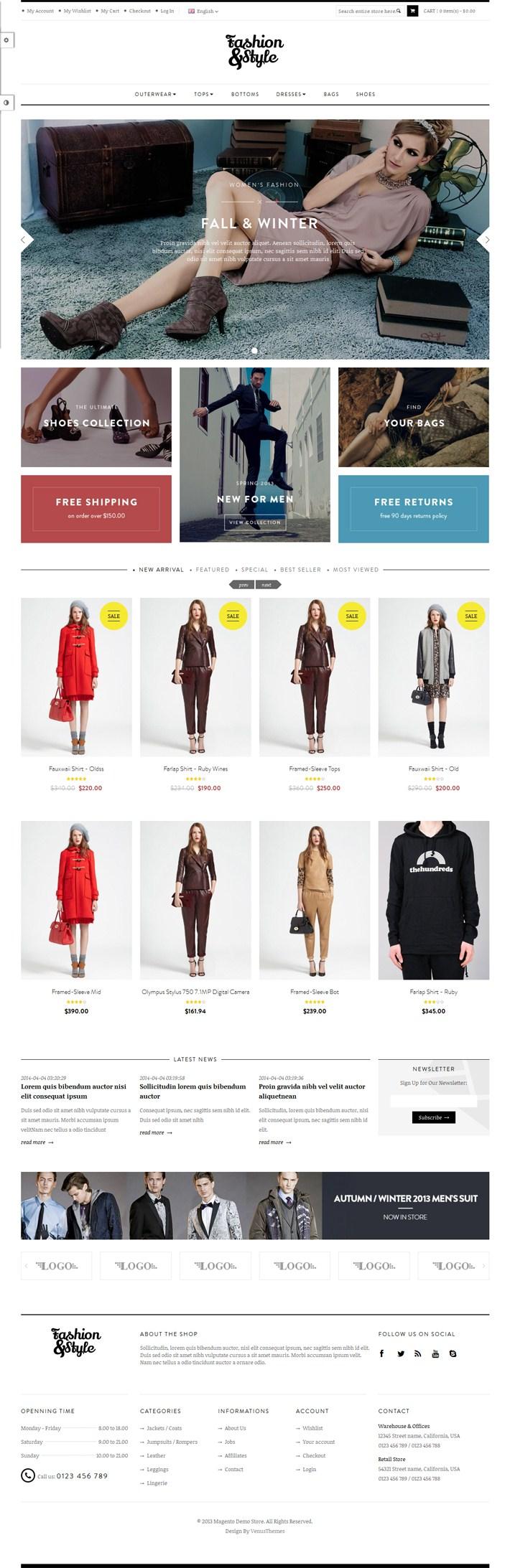 Ves Fashion-Responsive-Magento-Theme