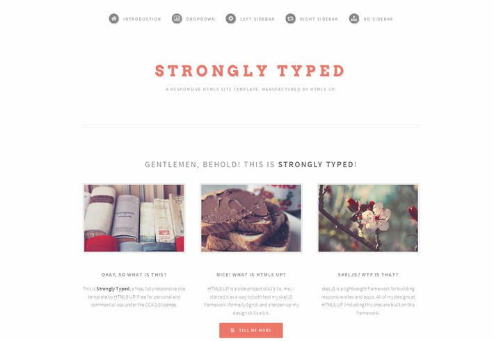 Free HTML5 CSS3 Responsive Templates