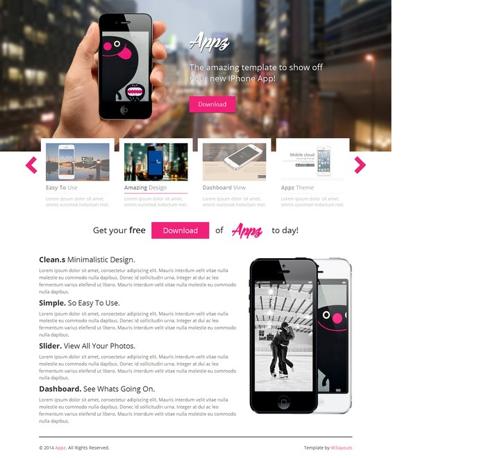 Appz Website Template