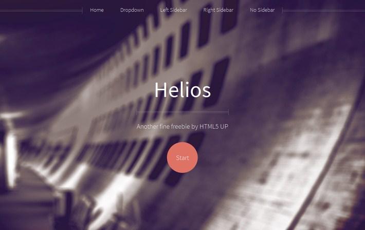 Helios Free Responsive Theme