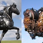Amazing Metal Animal Sculptures of John Lopez