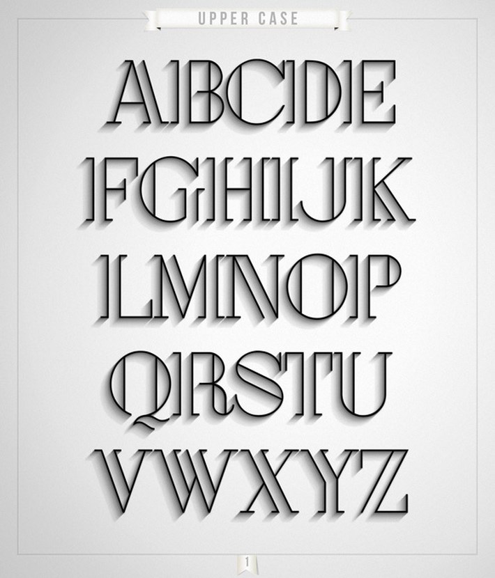 London Typeface Best Free Fonts 2014