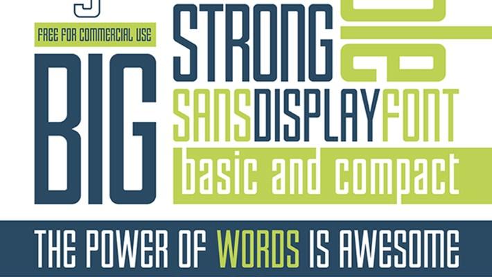 Beautiful Free Font - Enfatica Typeface 6
