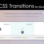 CSS Transitions & Transformations for jQuery