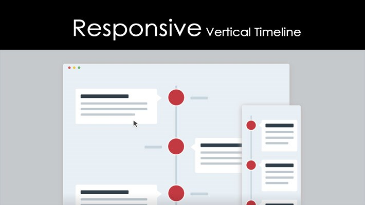 Create Responsive Vertical Timeline with CSS3 & JQuery