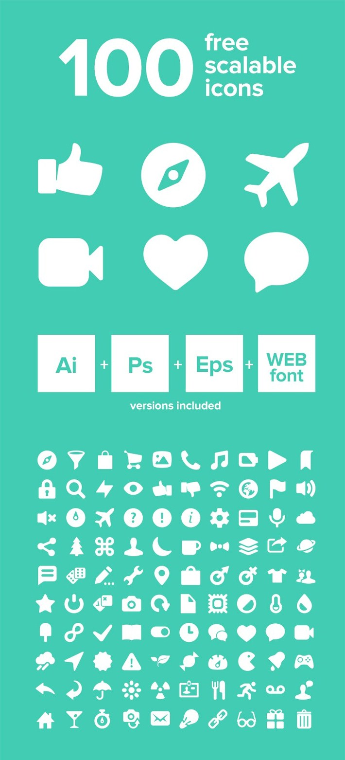 Icony - 100 Free Vector Icons