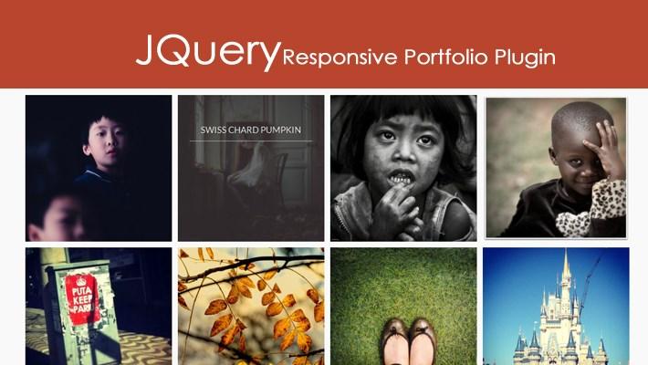 JQuery Responsive Portfolio Plugin