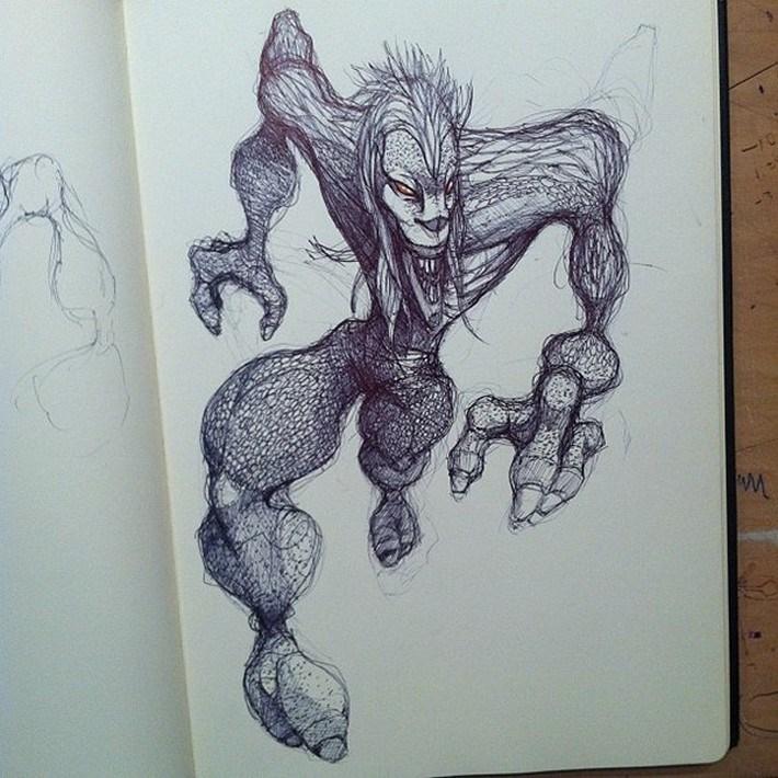 Moleskine-Sketches-3-by-Norio-Fujikawa