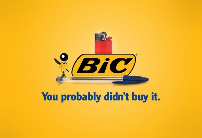 Bic Brand Slogan